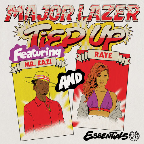 MAJOR LAZER – Tied Up (Feat Mr Eazi, Raye, Jake Gosling)