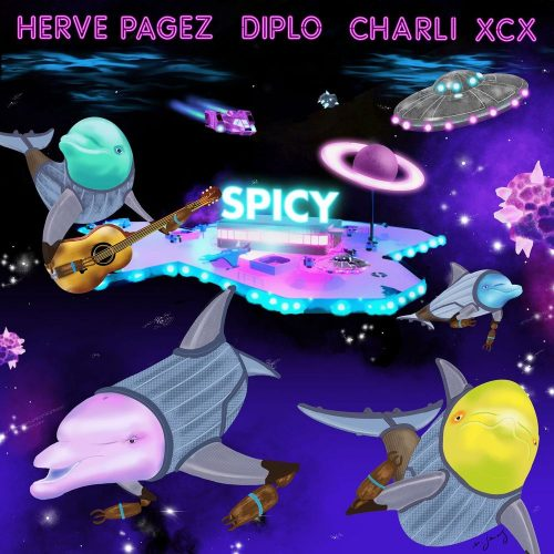 HERVE PAGEZ - Spicy (Feat Diplo, Charli Xcx)